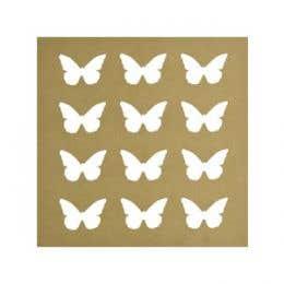 Kaisercraft Woodcraft Butterflyer Silhouettte Wall Art