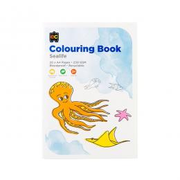 EC Colouring Book Sea Life