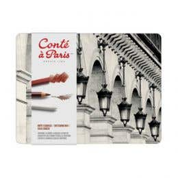 Conte A Paris Metal Sketching Box