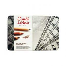 Conte A Paris Sketching Studio Set