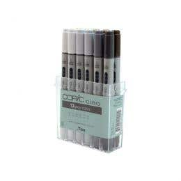 Copic Ciao Marker Assorted Grey Set