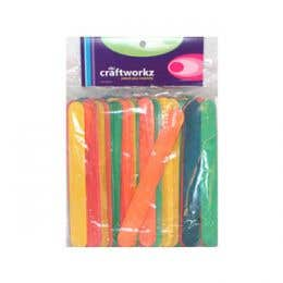D&L Craft Jumbo Sticks Coloured Pack