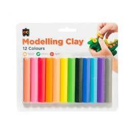 EC Rainbow Modelling Clay Pack 12