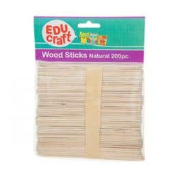 EDUcraft Wood Sticks
