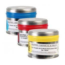 Graphics Waterbased Block Printing Inks 454g