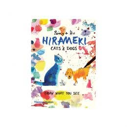 Hirameki Cats & Dogs Draw What You See Book