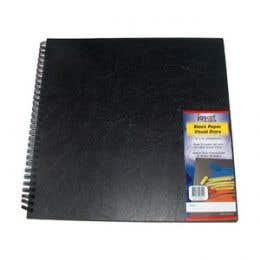Jasart Black Paper Visual Diaries