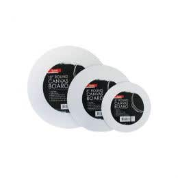 Jasart Round Canvas Panels FSC MIX