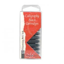 Manuscript Nib Ink Cartridge Pack of 12