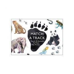 Match A Track Match 25 Animals To Their Paw Prints Book