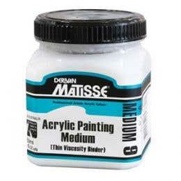 Matisse Acrylic Painting Mediums