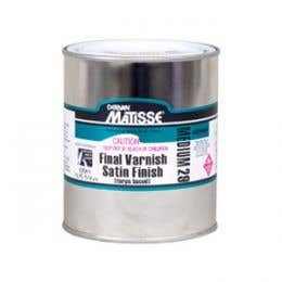 Matisse Turps-Based Varnishes