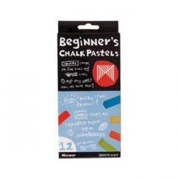 Micador Beginner's Chalk Pastels Set 12
