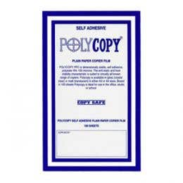 Polycopy Copier Clear Films