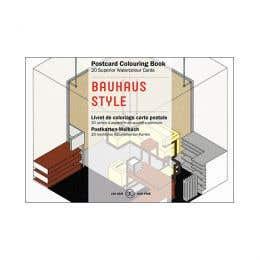 Pepin Postcard Bauhaus Style Colouring Book