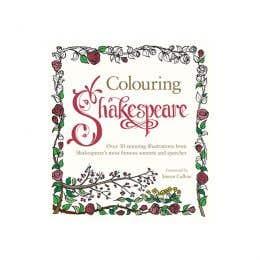 Colouring Shakespeare Book