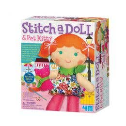 Stitch A Doll & Kitty Kit