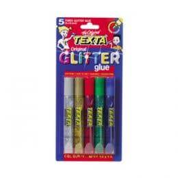Texta Glitter Glue Set