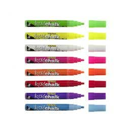 Texta Liquid Chalk Wet Wipe Markers 4.5mm