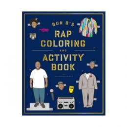 Bun BS Rap Colouring and Activity Book