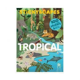 Stickyscapes Tropical Adventures Sticker Book
