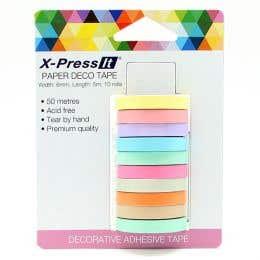 X-Press It Paper Deco Tape Pack