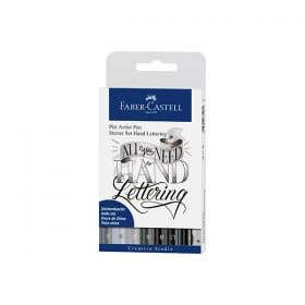 Faber-Castell Pitt Artist Pens Hand Lettering Sets