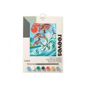 Reeves Medium Paint by Numbers (Dolphins)