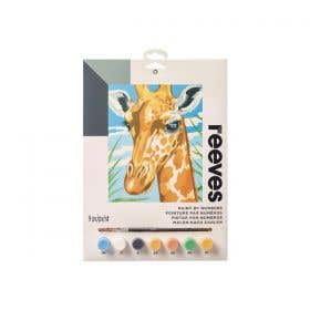 Reeves Medium Paint by Numbers (Giraffe)