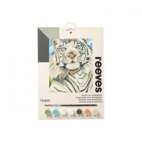 Reeves Medium Paint by Numbers (White Tiger)