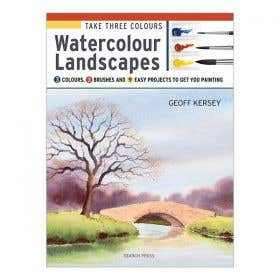 Take Three Colours: Watercolour Landscapes Book