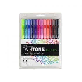 Tombow TwinTone Marker Sets
