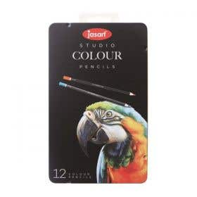 Jasart Studio Colour Pencil Tin Sets