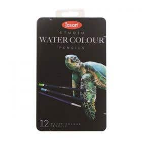 Jasart Studio Watercolour Pencil Tin Sets