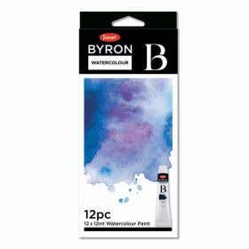 Jasart Byron Watercolour Paint 12ml Sets