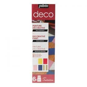 Pebeo Deco Discovery Gloss Paint Set