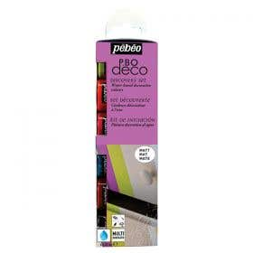 Pebeo Deco Discovery Matt Paint Set