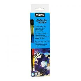 Pebeo Discovery Setacolor Opaque Fabric Painting Set