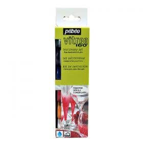 Pebeo Vitrea 160 Frost Glass Paint Discovery Set