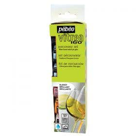 Pebeo Vitrea 160 Gloss Glass Paint Discovery Set