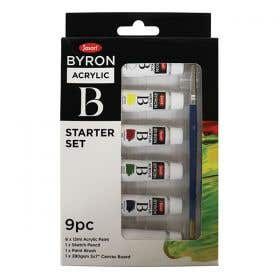 Jasart Byron Acrylic Paint Starter Set