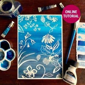 Winsor & Newton Cotman Watercolour Flora Online Tutorial