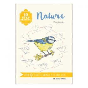 10 Step Drawing Nature Book