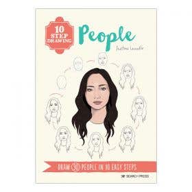 10 Step Drawing People Book