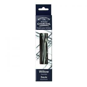 Winsor & Newton Willow Assorted Short Charcoal Pack