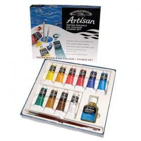 Winsor & Newton Artisan Water Mixable Oil Colour Studio Set