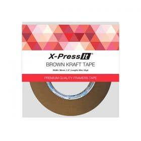 X-Press It Kraft Brown Tape Rolls