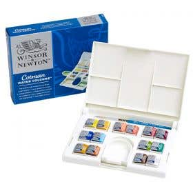 Winsor & Newton Cotman Watercolour Half Pan Compact Set