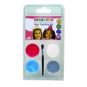 Snazaroo 3 Colour Clams Pretty Princess