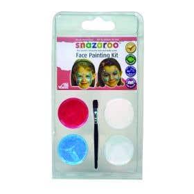 Snazaroo 3 Colour Clams Butterfly